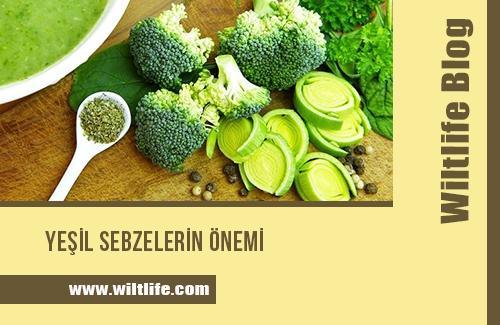 Yeşil Sebzelerin Önemi